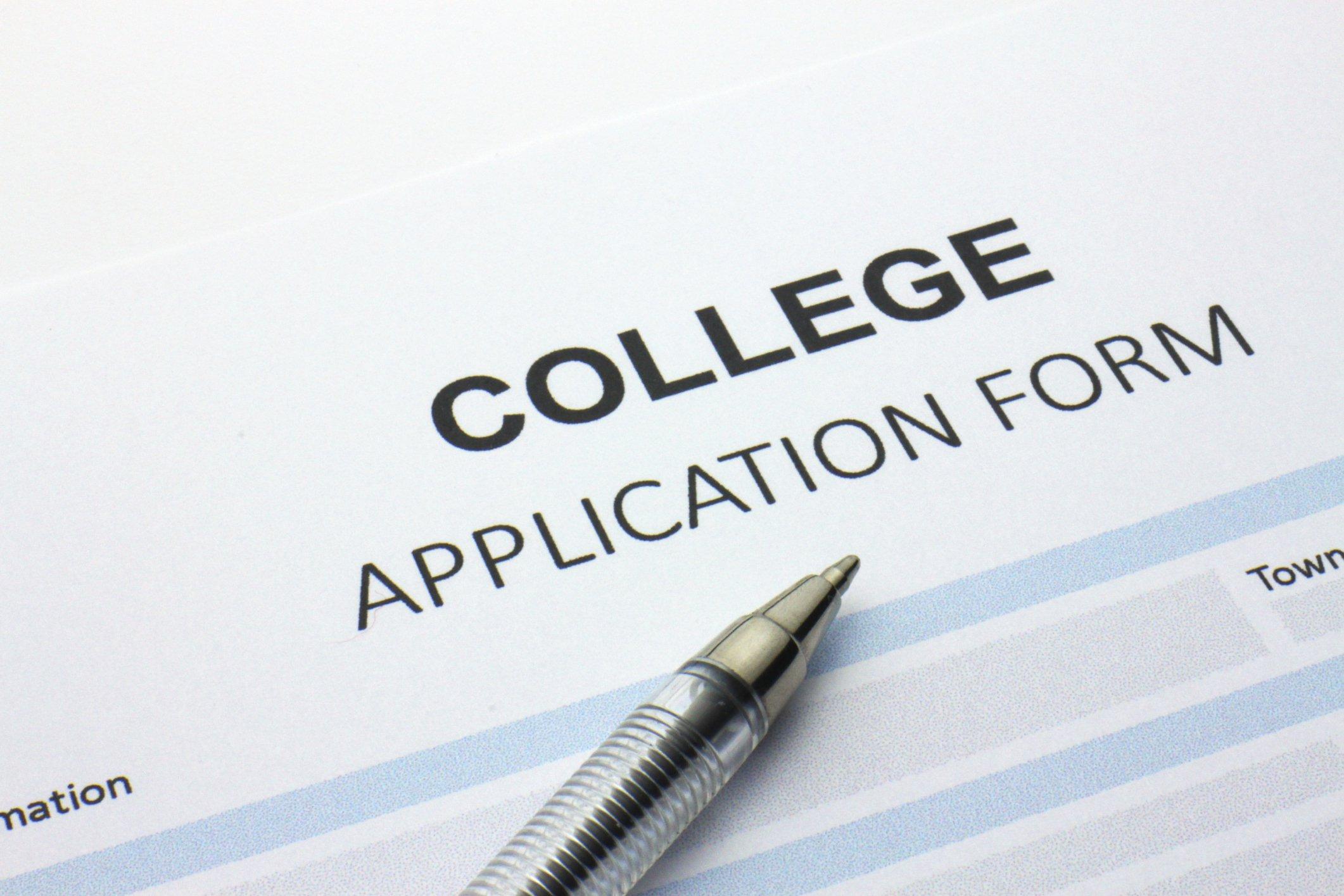 A question about college application?