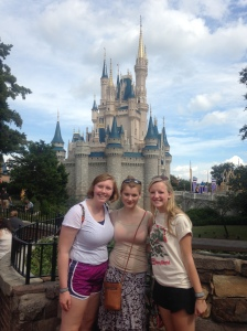 Your blog co-editors––and Emma––enjoying Disney!