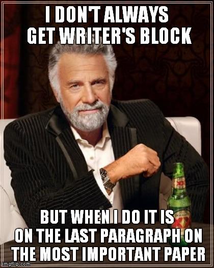 Writer's Blog Meme